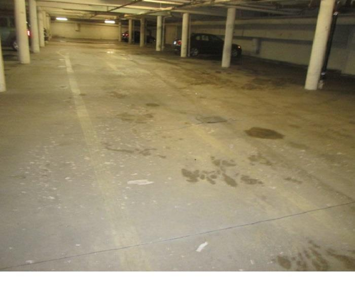 Clean Parking Lot Sewage Before