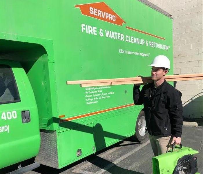 Our team here at SERVPRO of Crescenta Valley/East Glendale!