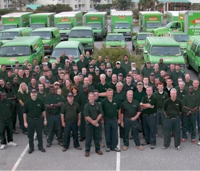 The Servpro Storm Team